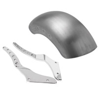 Roland Sands Design Chrome Tracker Rear Fender Kit for Softail