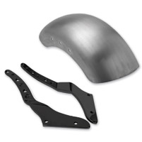 Roland Sands Design Black Tracker Rear Fender Kit for Softail