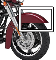 Motorcycle Armor Front Fender Protective Film Kit for Touring Models