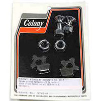 Colony Chrome Front Fender Mount Kit