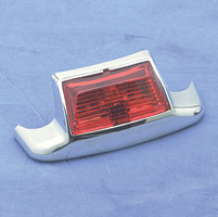 Rear Fender Tip Light with Red Lens