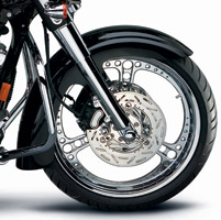 Arlen Ness Big-Wheeler Front Fender