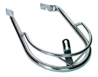 V-Twin Manufacturing Chrome V-Design Fender Trim Rail