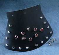 Large Studded Mud Flap with Diamond Center