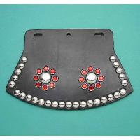 Mud Flap for Front and Rear Fenders with Red Dots