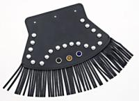 Medium Studded Mud Flap with Reflectors and Fringe
