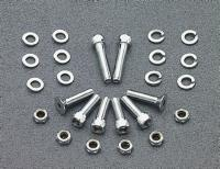 Chrome Fender Strut Bolt Kit