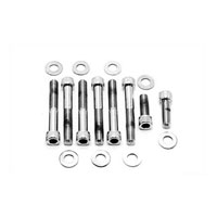 V-Twin Manufacturing Chrome Fender Strut Bolt Kit