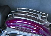 Motherwell Chrome Solo Seat Luggage Rack
