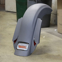 Paul Yaffe Originals Chupa Frenched Smooth Rear Fender