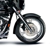 Arlen Ness Street Dagger Front Fender for Trikes