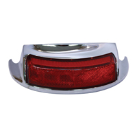 V-Twin Manufacturing Rear LED Fender Tip Light Assembly