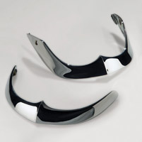 National Cycle Front Chrome Fender Tip Set