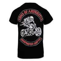 Sons of Arthritis Ibuprofen Chptr Black Short-Sleeve T-shirt