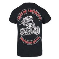 Sons of Arthritis Men's Ibuprofen Chptr Black Pocket T-Shirt
