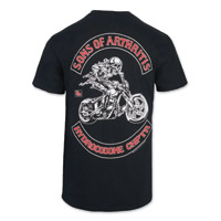 Sons of Arthritis Men's Hydrocodone Chapter Black Pocket T-Shirt