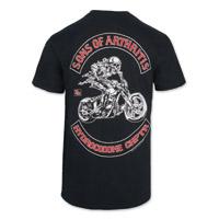 Sons of Arthritis Men's Hydrocodone Chapter Black Pocket T-Shirt