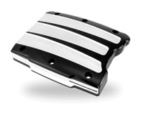 Performance Machine Scallop Contrast Cut Platinum Rocker Covers