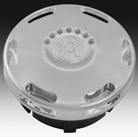 Performance Machine Apex Chrome LED Fuel Indicator Gas Cap