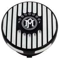Performance Machine Grill Contrast Cut LED Fuel Indicator Gas Cap