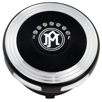 Performance Machine Merc Contrast Cut LED Fuel Indicator Gas Cap