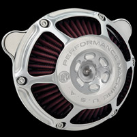 Performance Machine Chrome Max HP Air Cleaner