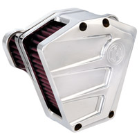 Performance Machine Scallop Chrome Air Cleaner