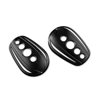 Kuryakyn Black Hole Covers for Stock H-D Mirrors