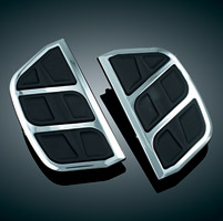 Kuryakyn Kinetic Chrome Passenger Board Inserts