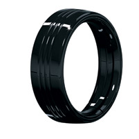 Kuryakyn Gloss Black 7″ Headlamp Trim Ring