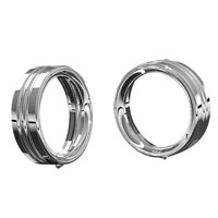 Kuryakyn Chrome 4-1/2″ Passing Lamp Trim Rings