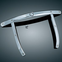 Kuryakyn Chrome Outer Trim for H-D Detachable Windshields