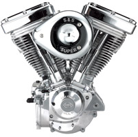 S&S Cycle V96 Evo Style Natural Finish Engine