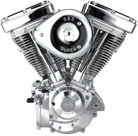 S&S Cycle V96 Evo Style Polished Finish Engine