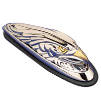 J&P Cycles® Eagle Head Fender Ornament