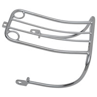 Chrome Bobtail Luggage Rack