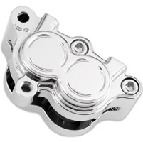 Arlen Ness Chrome Left Front Brake Caliper Housing Kit