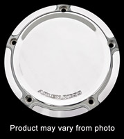 Arlen Ness Chrome Beveled Derby Cover