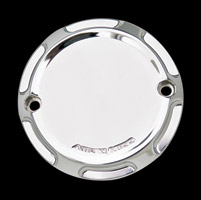 Arlen Ness Chrome Beveled Point Cover