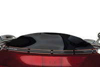 Arlen Ness Beveled Black Windshield Trim