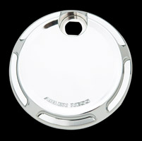 Arlen Ness Chrome Beveled Fuel Door