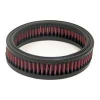 K&N High-Flow Round Replacement Air Filter for Indian Models