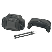 Saddlemen FTB2500 Sport Sissybar and Combo Bag