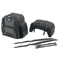 Saddlemen FTB3600 Sport Sissybar and Combo Bag