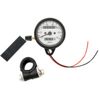 Mini Speedometer with Black Housing