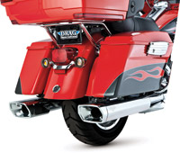 Vance & Hines Monster Squared Chromed Slip-On Mufflers