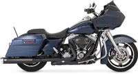 Vance & Hines Monster Squared Black Slip-on Mufflers