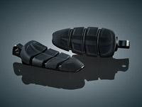 Kuryakyn Kinetic Black Footpegs with HD Male Adapter