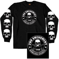Hot Leathers 2nd Amendment Long-Sleeve T-shirt