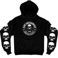 Hot Leathers 2nd Amendment Hooded Sweatshirt